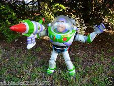 ☺ Jouet Électronique Buzz L'eclair Disney Pixar Hasbro 2001 28 Cm Parle Français