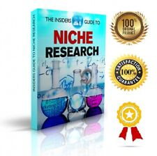 Inside Guide Niche Research - eBook pdf - With Resell Rights - Delivery 12 hrs