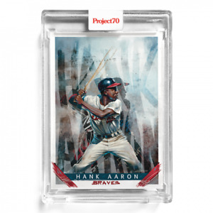 Topps Project 70 Card 23 Hank Aaron By Chuck Styles Artist Proof # to 51 Presale