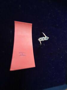 Ring (925 Silber) mit hellblauen Steinen  (Jenifer Lopez Collection)
