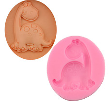Mignon Dinosaures Silicone Glaçage Moule Cuisson Chocolate Cake Nappage