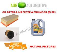 Filtro Aria Olio Diesel Kit + LL 5w30 OLIO PER PEUGEOT EXPERT 2.0 136 CV 2007 -