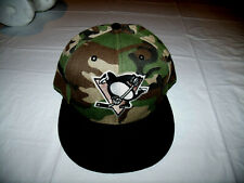 Pittsburgh Penguins Camo Hat New Era Fits Snapback Adjustable Camouflage NHL