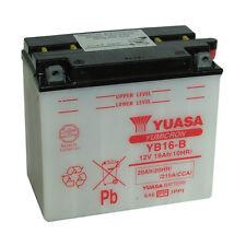 Motorradbatterie Yuasa YB16-B 12v 19Ah 215A 175X100X155MM Säure