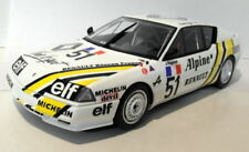 Voitures de courses miniatures blancs Alpine 1:18