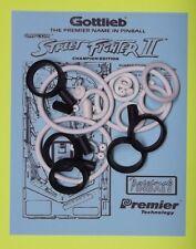 1993 Gottlieb / Premier Street Fighter II pinball rubber ring kit