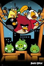 Angry Birds On A Wire - Maxi Poster 61cm x 91.5cm - 726