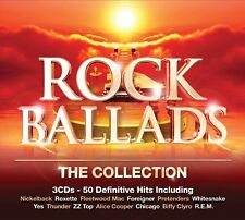 "Rock Ballads ""The Collection"" Various Artists 3CD SET NEW/SEALED 1st Class Post"
