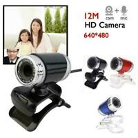 USB 50MP HD Webcam Web Cam Camera For Computer PC W1T3 Laptop Desktop U3Y9