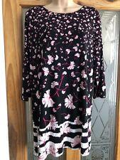 Debenhams Women's Ladies Top Tunic Size Uk 16