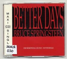 - BRUCE SPRINGSTEEN CD Better Days - 1-Track Promo CD-sampcd 1623