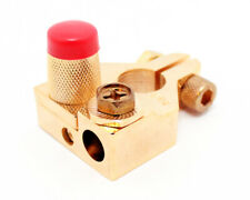Sinuslive Batterieklemme BKS vergoldet PLUS 1x10mm² & 1x35mm² Batteriepolklemme