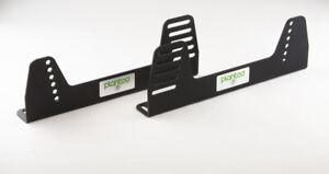 Planted Seat Bracket Steel 90 Degree Universal Side Mount- Black