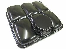 FORD FOCUS HEADERTANK COVER AND CAP GLOSS BLACK 2MM ABS PLASTIC MK2 RS ST