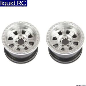 Axial Racing 43007 2.2 Raceline Monster Beadlock Wheel Satin 2 pieces
