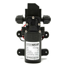 Hot 130PSI 6L/Min Water High Pressure Diaphragm Self Priming Water Pump 12V 70W