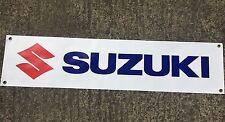 Bike  enthusiasts PVC Garage banner - SUZUKI