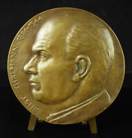 Medal Ernst Thälmann Camp Concentration Buchenwald 12cm Communist German