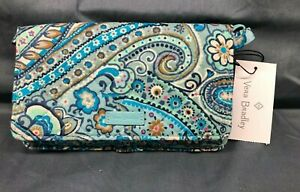 Vera Bradley Iconic RFID All Together Crossbody Daisy Dot Paisley NEW WITH TAGS!