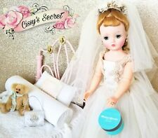 Classic Tiffany Blue Vintage Style Hat Box For Madame Alexander Cissy Doll