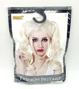 Harley Quinn Blonde Pigtails Fashion Wig