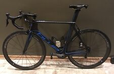 BLUE AC1 EX 56cm M/L Aero Carbon Bike Ultegra Di2 Stages Power Meter Reynolds