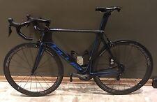 BLUE AC1 EX 56cm M/L Aero Carbon Bike Ultegra Di2 Stages Power Meter Reynolds