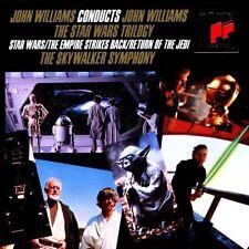 THE STAR WARS TRILOGY (John Williams conducts John Williams) Audio-CD NEU+OVP