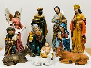 11 Piece Christmas Nativity Scene Set, 660mm