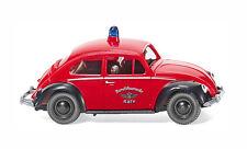 HO Wiking 1960 VW Volkswagen Beetle 1200 Köln Cologne Fire Chief MODEL CAR 86137