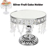 Crystal Fruit Cake Cupcake Stand Display Dessert Holder Wedding Party Decor