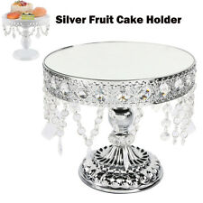 Crystal Fruit Cake Cupcake Stand Display Dessert Holder Wedding Party Decor