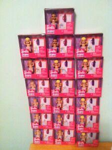LOT 19 dolls Mattel Barbie Skipper Babysitters INC Baby Diaper Bottle Blanket