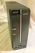 ACER Aspire XC100 Mini Tower 1.7GB CPU 930GB HD 4GB Ram GOOD CONDITION!