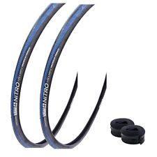 "Yaw Nitro 28"" Rennradreifen Fahrradbereifung 23-622 (700x23C) blau schwarz blau"