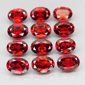 Mozambique Garnet Gemstone Cuts-Mozambique Garnet Stone-Natural Mozambique Garnet Faceted Oval Gemstone-9x7 MM-3 Pcs-Wholesalegems-BS10648
