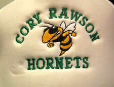 CORY RAWSON HORNETS logo trucker cap High School hat OHIO embroidery snapback