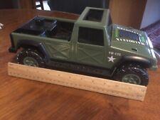 "Vintage 1992 Hasbro Tonka GI Joe Green Military Jeep/Truck 13""Long VGC"