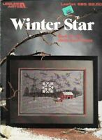 Winter Star Book 2 in Cross Stitch Leisure Arts 685 Sheila Tune Upham