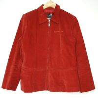 Billabong Y2K Womens Red Full Zip Jacket Size 12