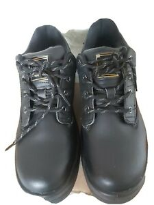 Dunlop Steel WORK Toe Cap Safety Boots - Mens UK Size 10.5 NO RESERVE SALE