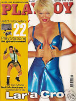 1 - PLAYBOY D 8/1999 August - Nell McAndrew als Lara Croft + Willy Lemke