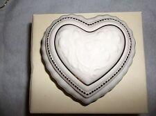 Lenox China Treasures Heart Musical Jewelry Box *NIB*