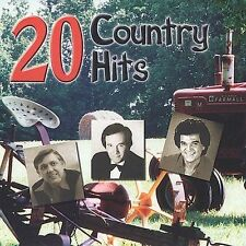 Various Artists : 20 Country Hits CD