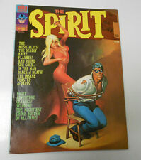 1975 THE SPIRIT by Will Eisner #11 VF- Warren Magazine