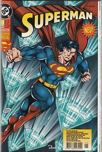 SUPERMAN SPECIAL (deutsch) # 1 - FEHLDRUCK!!! - DINO VERLAG 1996 - TOP