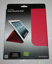 Kensington PINK Folio Expert Cover Stand For iPad 2 / 3 & 4th Gen,