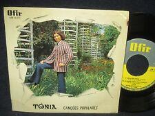 "Tonia ""Cancoes Populares"" 45 EP Portual Import"
