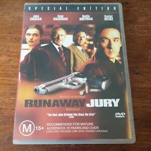Runaway Jury DVD R4 Like New! FREE POST