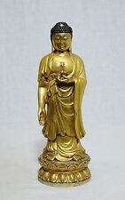Sino-Tibetan  Gilt  Bronze  Buddha  Figure    M935